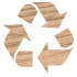 Holz ist Recycling-Meister